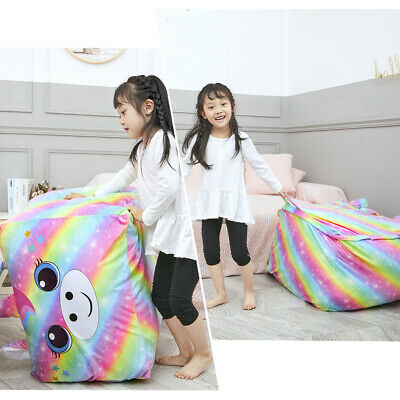 Soft Seat Cover Storage Bean Extra Large Stuffed Animal Toy Cover Bag Orangnizer • 17.61£