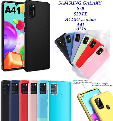 £2.99 • Buy Genuine Liquid Silicone Phone Case Cover For Samsung A21s A41 A42 5g S20 S20 FE