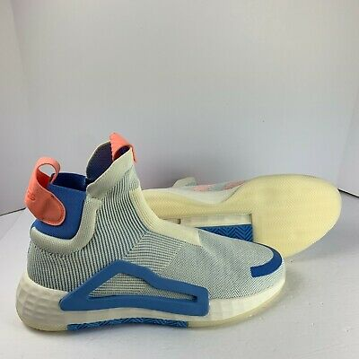 AU102.11 • Buy Adidas N3XT L3V3L Next Level Laceless Basketball Shoes White Blue F36282 SZ 12.5