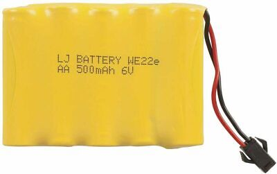 AU12.95 • Buy Spare Rechargeable 6V 500mAh Battery With 2 Pin SM Plug