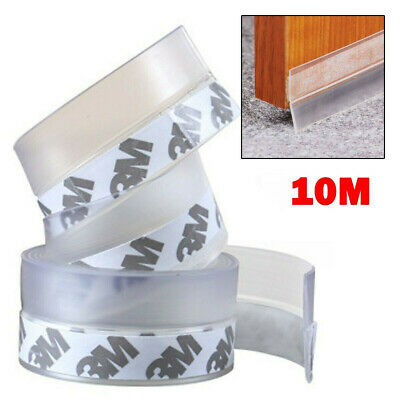 £6.99 • Buy Weather Silicone Tape Draught Excluder Seal Strip Insulation Window Door Stop Uk