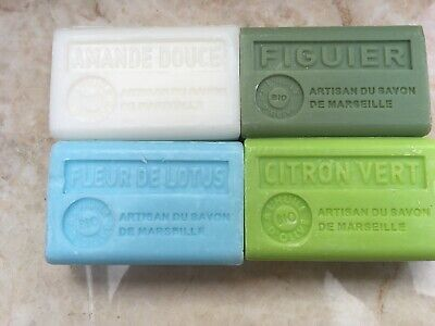 £12.50 • Buy 5 X French Soaps 125g  With Organic Olive Oil And Shea 45 Scents/ FREE UK POST