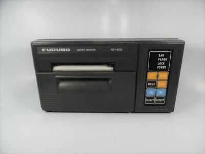 Furuno - NX-500 Navtex Receiver W/ Integral Printer - FOR PARTS OR REPAIR • 64.37£