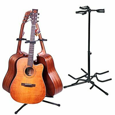 AU60.59 • Buy Triple Guitar Stand, Musician's Gear, Electric Acoustic And Base Holder,