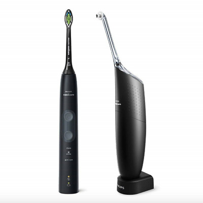 AU397.29 • Buy Philips Sonicare ProtectiveClean 5100 And AirFloss Pro Black HX8491/74
