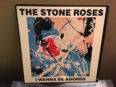 "THE STONE ROSES - I Wanna Be Adored -  12""EP Edit* Going Down Simone Vinyl • 107.28£"