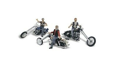 AU38 • Buy N Scale. Woodland Scenics Bad Boy Bikers