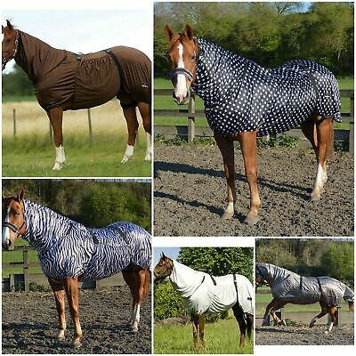 £34.99 • Buy BOH Full Fixed Combo Neck Breathable Summer Sheet Mesh Turnout Fly Eczema Rug