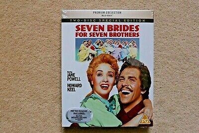 £14.78 • Buy Blu-ray Seven Brides For Seven Brothers  Premium Exclusive Edition New Sealed