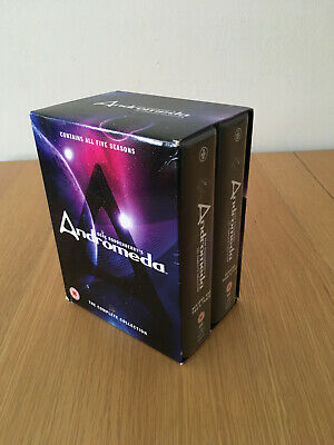 Andromeda -The Complete Collection, Season 1-5, 2015, Region 2, Gene Roddenberry • 45£