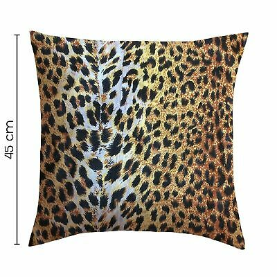 Printed Filled Cushions Decorative Floral Animal Printed Throw Pillows 2 Pack • 8.99£
