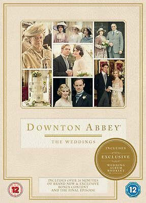 Downton Abbey The Weddings - DVD - New Sealed Condition • 4.99£