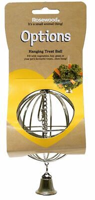 £7.49 • Buy Hanging Food & Hay Ball Rabbit Guinea Pig & Small Rodent
