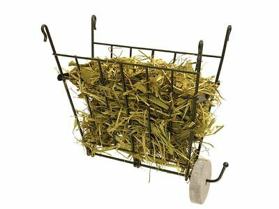 £8.99 • Buy Folding Wire Hay Manger Food Rack Rabbit Guinea Pigs Rodents