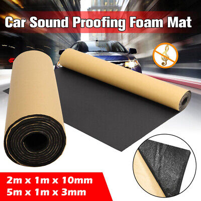 £27.99 • Buy 2/5m Roll Self Adhesive Car Sound Proofing Deadener Insulation Closed Cell Foam