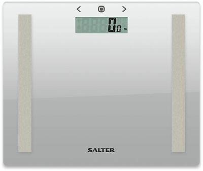 £13.99 • Buy Salter Compact Glass Body Analyser Scale - Silver