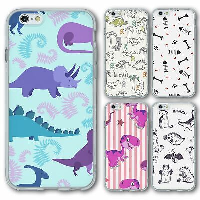 AU12.43 • Buy For IPhone 6 6s Silicone Case Cover Dinosaur Group 5