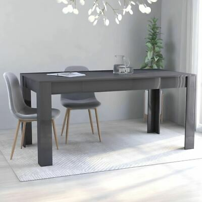 AU121.95 • Buy Modern Style Dining Room Table Furniture Kitchen Dinner Breakfast High Gloss
