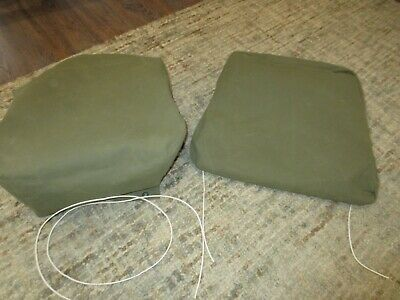 $125 • Buy Seat Cover Kit Canvas Military Driver Side M35A2 M35 M52 USA Made NON Spring