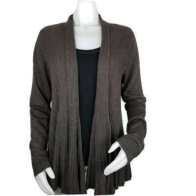 $ CDN17.48 • Buy Debbie Morgan Womens Large Open Front Cardigan Long Sleeve Ribbed In Front