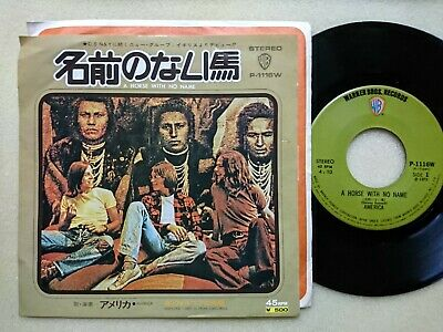 £5.78 • Buy AMERICA A Horse With No Name JAPAN 7  NM WAX P-1116W