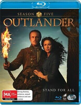 AU24.50 • Buy Outlander - Season 5 : NEW Blu-Ray