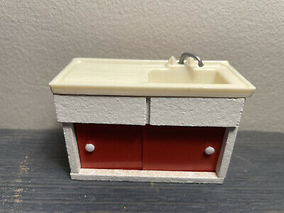 £9.99 • Buy Barton Galt Kitchen Sink And Cabinet 16th Scale Vintage C1960s C1970s Lundby
