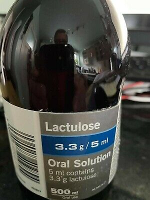 Bottles Lactulose 500ml New Unopened • 6.30£