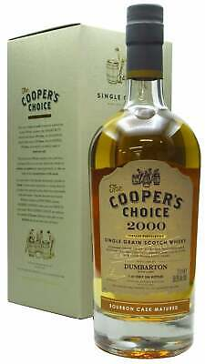 Dumbarton (silent) - Cooper's Choice Single Cask #211094 - 2000 20 Year Old W... • 120.95£