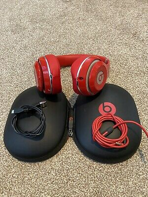 Beats By Dre Studio Wireless Noise Cancelling Headphones (Red) B0501 • 60£