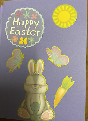 Home Made Easter Cards Pack Of 4 Assorted Blank Inside • 2.25£
