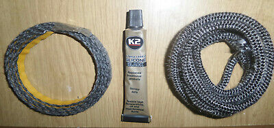 £15 • Buy  Morso Squirrel Door Rope And Glass Seal Kit. Free First Class Postage.