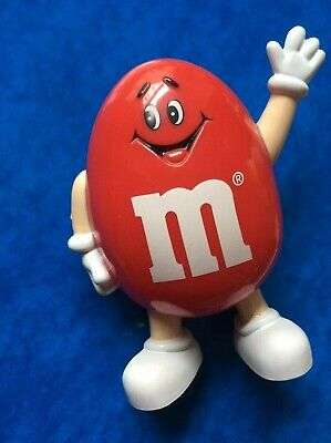M&Ms Sweet Dispenser Container In Red Character - Retro Mars 1992. VGC • 10£