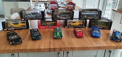 1 18 Scale Diecast Model Cars • 125£