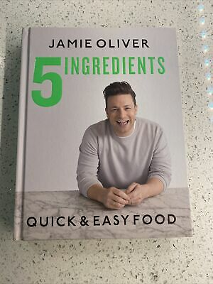 AU26.21 • Buy 5 Ingredients Quick & Easy Food By Jamie Oliver (2019, Hardcover)