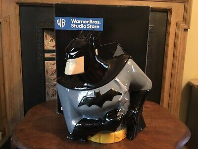 Batman Animated Warner Bros Exclusive Batman Cookie Jar C1997 • 80£