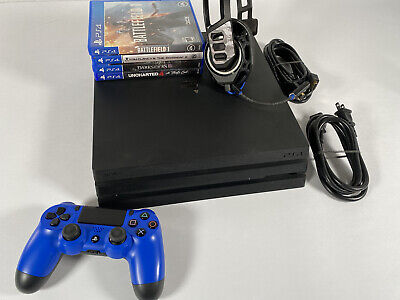 AU511.95 • Buy PS4 PRO Console Bundle Playstation 4 Video Games Headset Wireless Controller SDS