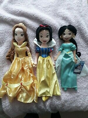 Disney Store Princess Soft Toy Dolls • 10£