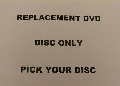 £2 • Buy Replacement Dvd Disc Only - Pick Your Disc - #4