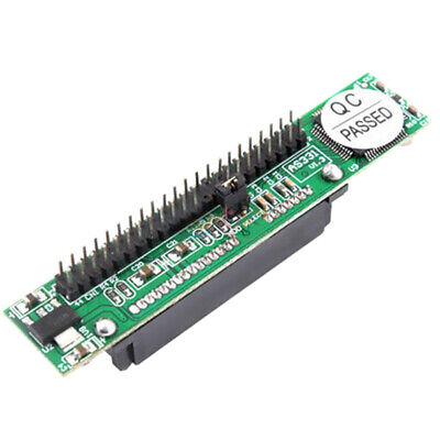 SATA Female To 44Pin 2.5 IDE Male HDD Adapter Converter IDE Adapter L&6 • 6.07£