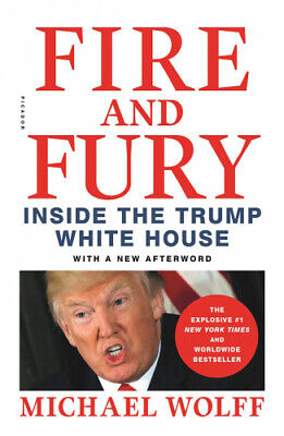 AU15.67 • Buy Fire And Fury: Inside The Trump White House By Michael Wolff