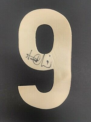 AU59.95 • Buy AFL RICHMOND TIGERS HAND SIGNED TRENT COTCHIN SEW ON NUMBER 9 Premiers