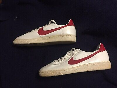 AU3870.47 • Buy Vtg Prototype 80s Nike Bruin Mcfly Back To The Future Red Retro Cortez Shoes 11
