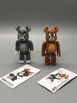 $48.99 • Buy Series 41 Tom + Jerry 2pcs Medicom 100% Bearbrick US Seller Fast Shipping