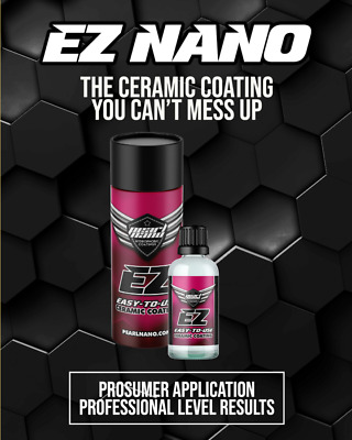$83.21 • Buy Pearl Nano EZ Ceramic Full 3 To 5 Year Coating With Applicator *Quick Drying*
