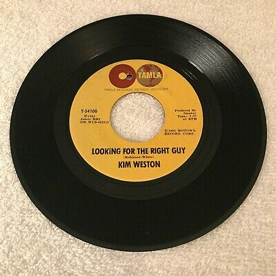 £10.91 • Buy Kim Weston - Looking For The Right Guy / Feel Alright Tonight
