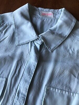 AU10 • Buy Gorman Silk Top Sleeveless Button Shirt Blouse Size 6