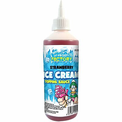 Strawberry Ice Cream Sauce Topping 625g • 7.95£