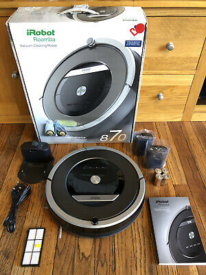 IRobot Roomba 870 Robotic Vacuum Cleaner Great Condition With Spares+accessories • 112£