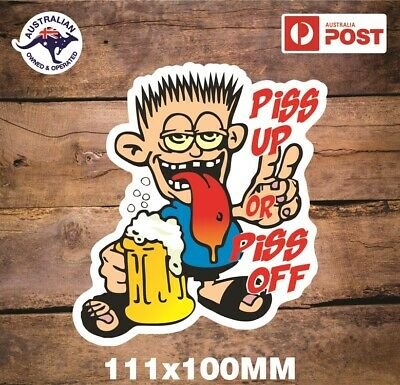 AU5.99 • Buy Piss Up Sticker Beer Xxxx Vb Great Northern Stickers